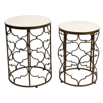 Keppel 2 Piece End Table Set