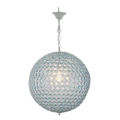 Newport 1-Light Crystal Pendant