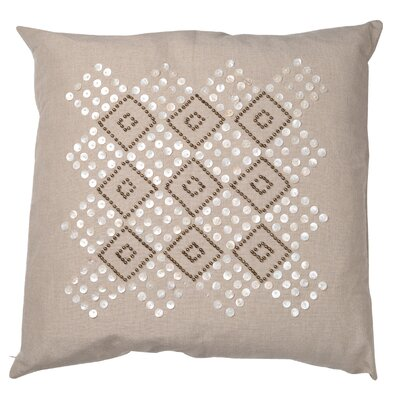 Greene Cotton Linen Throw Pillow
