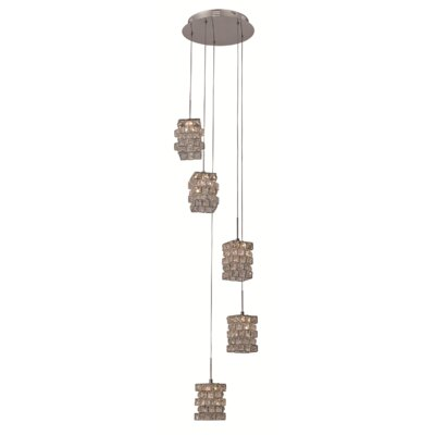 Jewel 5-Light Kitchen Island Pendant