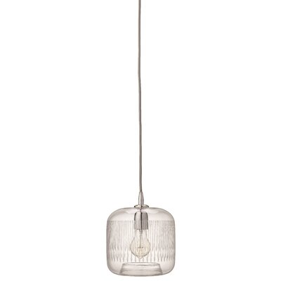 Durham 1-Light Mini Pendant Finish: Nickel