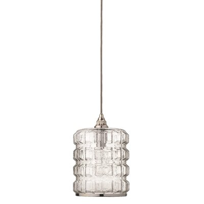 Beckham 1-Light Mini Pendant Finish: Silver