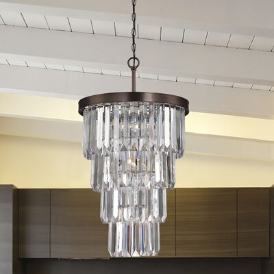 Apus Glam 19-Light Crystal Chandelier