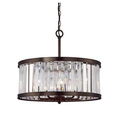 Apus 5-Light Drum Pendant