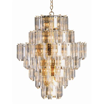 Edenbridge 26-Light Crystal Chandelier
