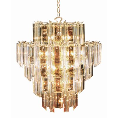 Elvis 16-Light Crystal Chandelier
