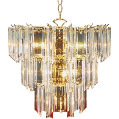 Emet 10-Light Crystal Chandelier
