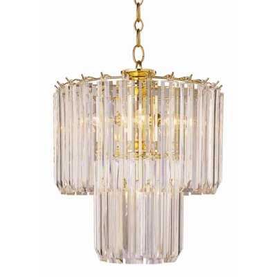 Benedetto 5-Light Crystal Chandelier