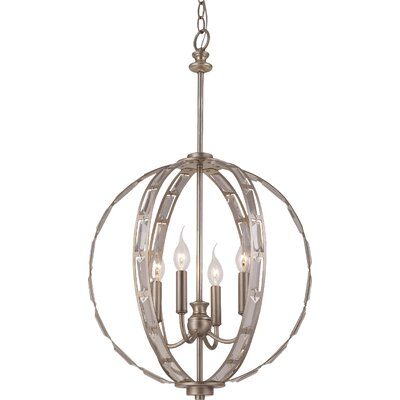 Rothe 4-Light Globe Pendant