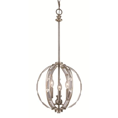 Halle 3-Light Globe Pendant