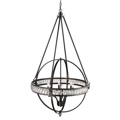 Charlize 6-Light Globe Pendant Finish: Rubbed Oil Bronze