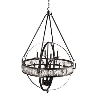 Charlize 12-Light Globe Pendant Finish: Rubbed Oil Bronze