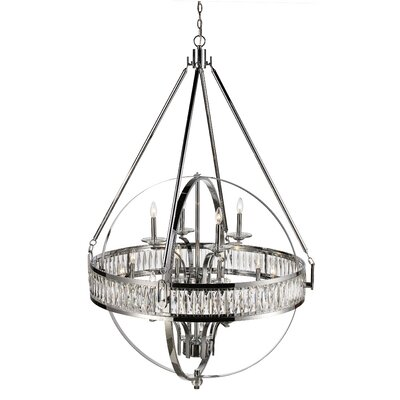 Charlize 12-Light Globe Pendant Finish: Polished Chrome