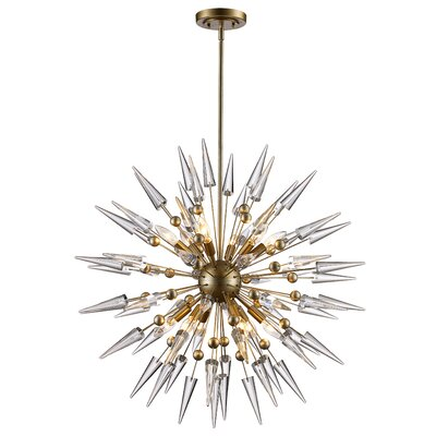 Gonnard Geometric Pendant Finish: Antique Silver