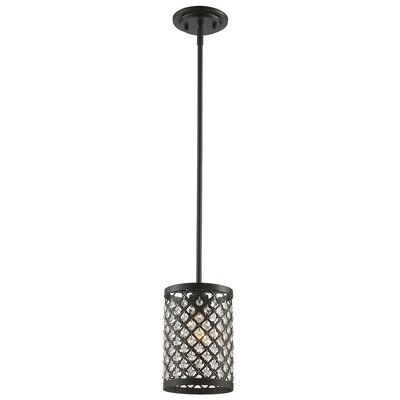 Senters 1-Light Mini Pendant Finish: Rubbed Oil Bronze