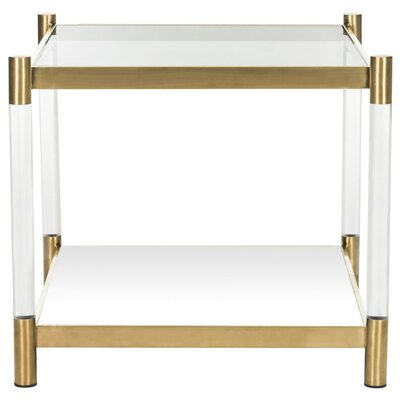 Orchimont End Table Finish: Gold