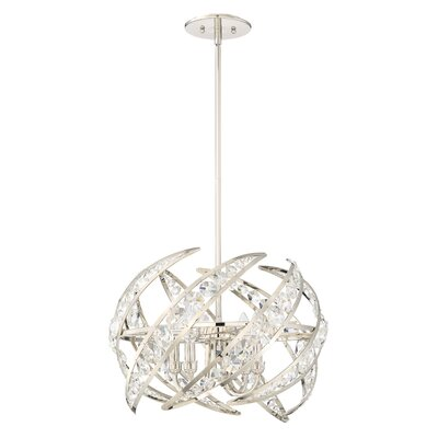 Grandville 4-Light Globe Pendant