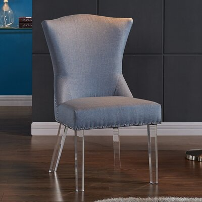 Bostrom Parsons Chair Upholstery: Blue