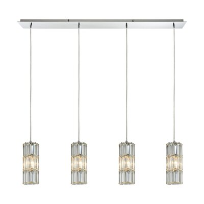Glossop 4-Light Kitchen Island Pendant
