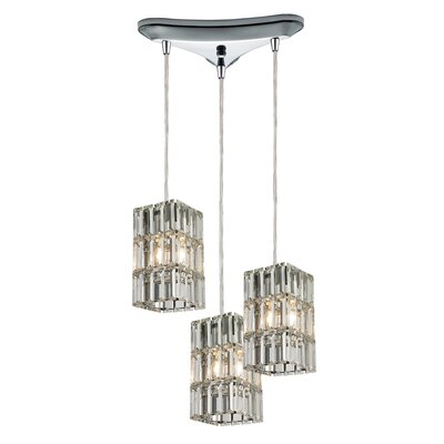 Glossop 3-Light Pendant