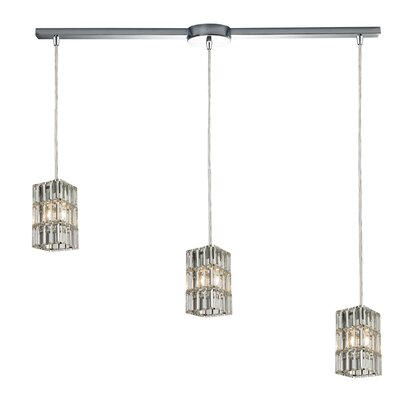 Glossop 3-Light Kitchen Island Pendant