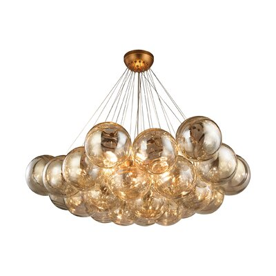 Arundel 6-Light Pendant Finish: Antique Gold Leaf