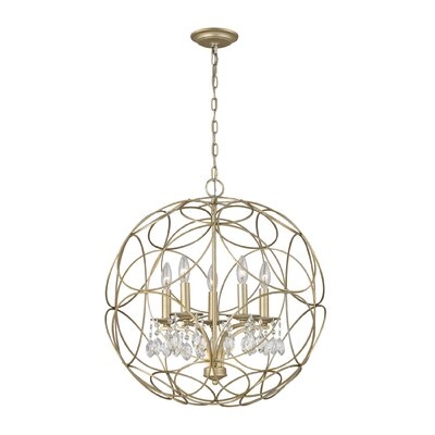 Ione 5-Light Geometric Pendant