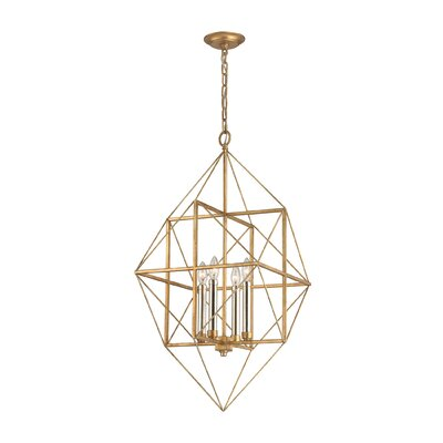 Elienor 4-Light Foyer Pendant