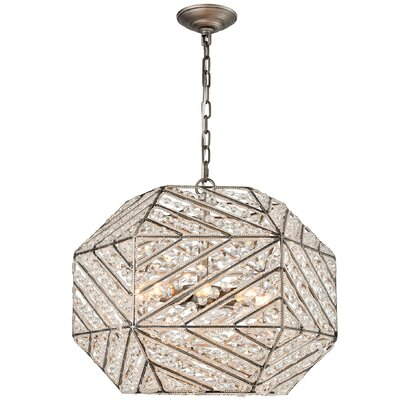 Swinton 8-Light Globe Pendant Bulb Type: 4.8W LED