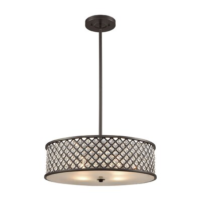 Barse 4-Light Drum Pendant