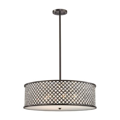 Barse 6-Light Drum Pendant