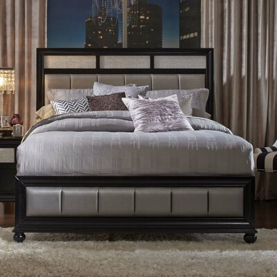Chappell Upholstered Panel Bed Size: California King