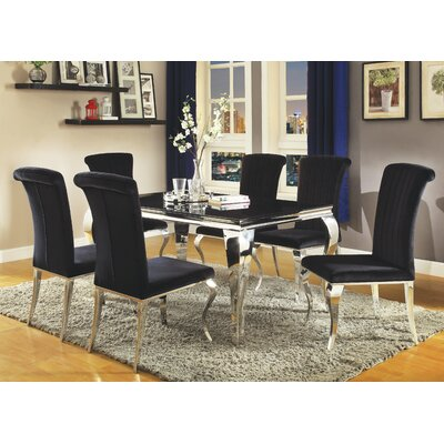 Geraldina 5 Piece Dining Set