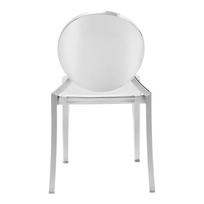 Ropp Dining Chair Finish: Stainless Steel