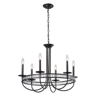 Grandidier 6-Light Candle-Style Chandelier
