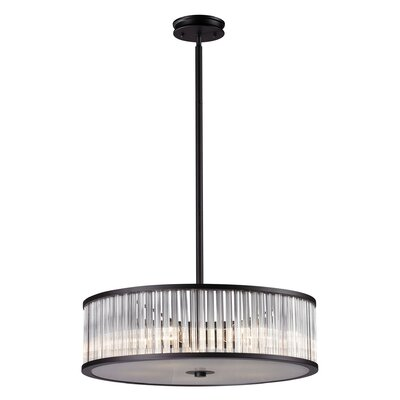 Grandidier 5-Light Drum Pendant