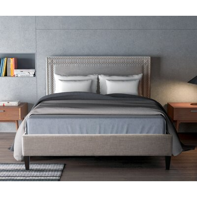 Rosita Upholstered Platform Bed Size: Queen