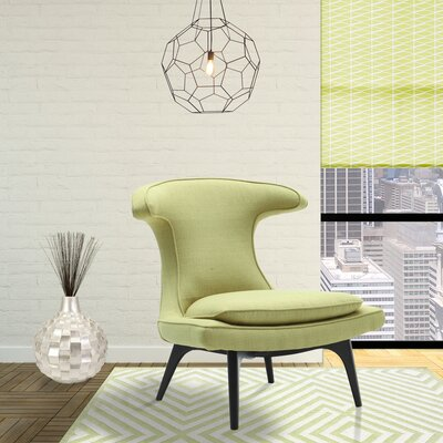 Warwick Lounge Chair Upholstery: Green