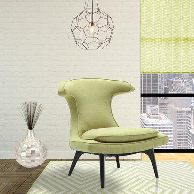 Warwick Lounge Chair Upholstery: Green