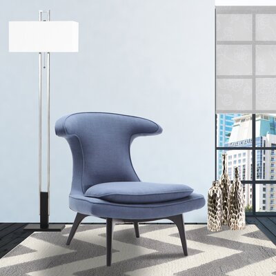 Warwick Lounge Chair Upholstery: Blue