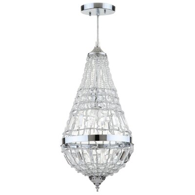 Beaminster Byrd 1-Light Crystal Pendant