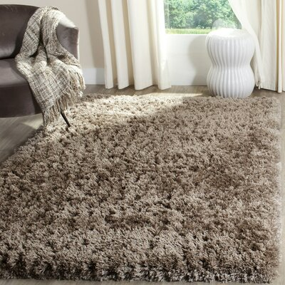 Hermina Mushroom Area Rug Rug Size: Rectangle 6'7