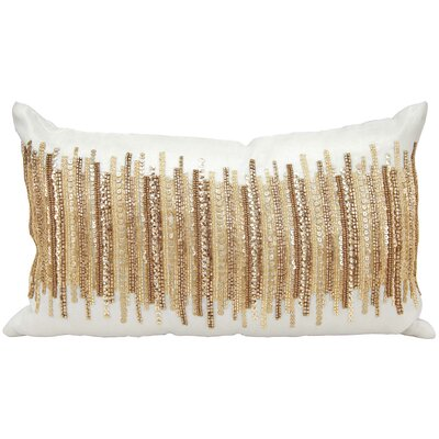 Cinderford Lumbar Pillow Color: Gold/White