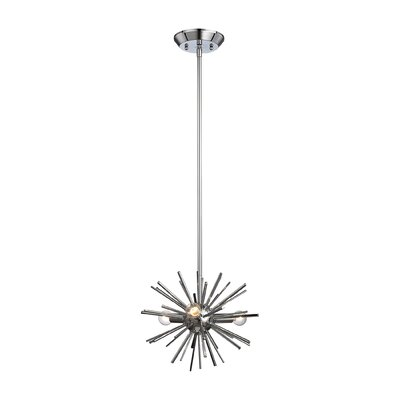 Elinore 3-Light Pendant Finish: Chrome