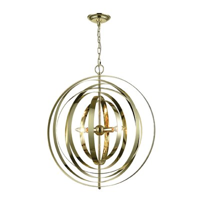 Dalton 3-Light Globe Pendant