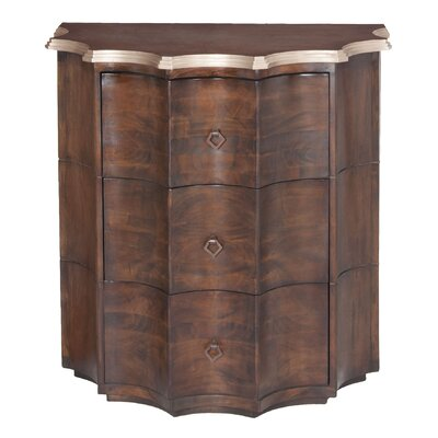 Crowle 3 Drawer Chest