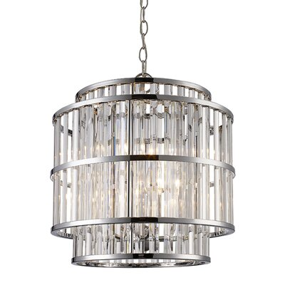 Beeston 4-Light Drum Pendant