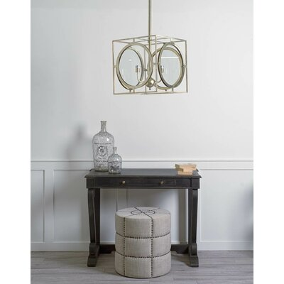 Cheshunt 3-Light Geometric Pendant