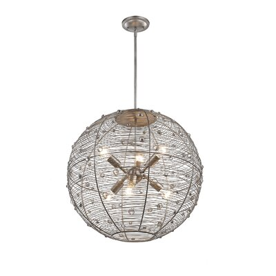 Berwick 6-Light Globe Pendant