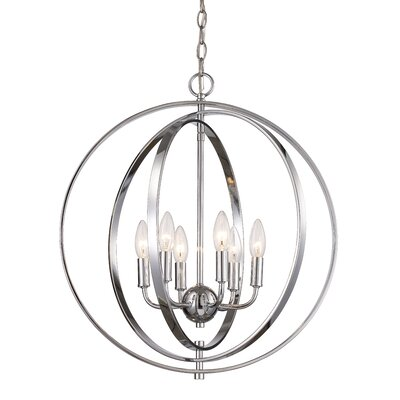 Bebington 6-Light Foyer Pendant